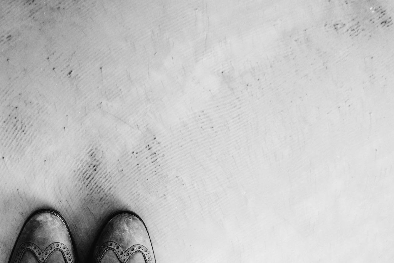 Puntas de unos zapatos