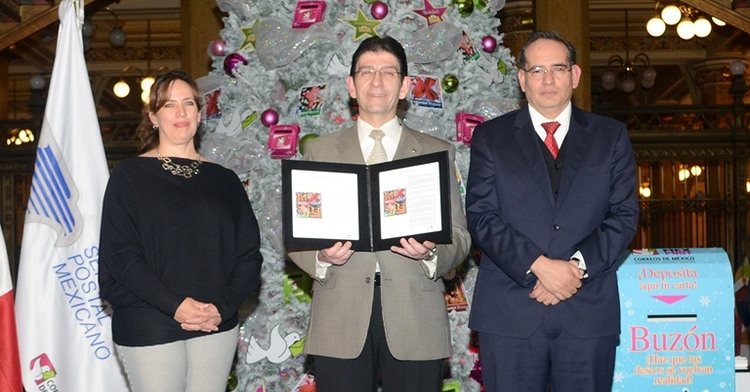 Con la emisión de las estampillas Navidad Mexicana inició la temporada navideña en Sepomex