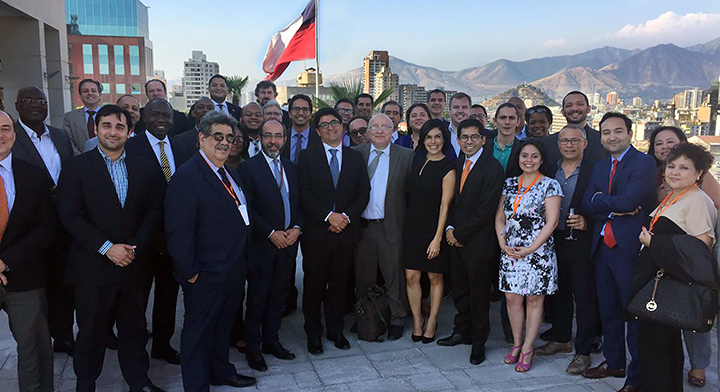 Participantes de la IV Reunión Ministerial de la Red de Gobierno Electrónico para América Latina y el Caribe
