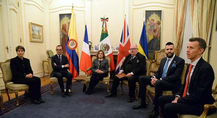 Secretaria Arely Gómez González en la Cuarta Cumbre Mundial por un Gobierno Abierto