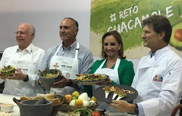 Secretarios en el #RetoGuacamole
