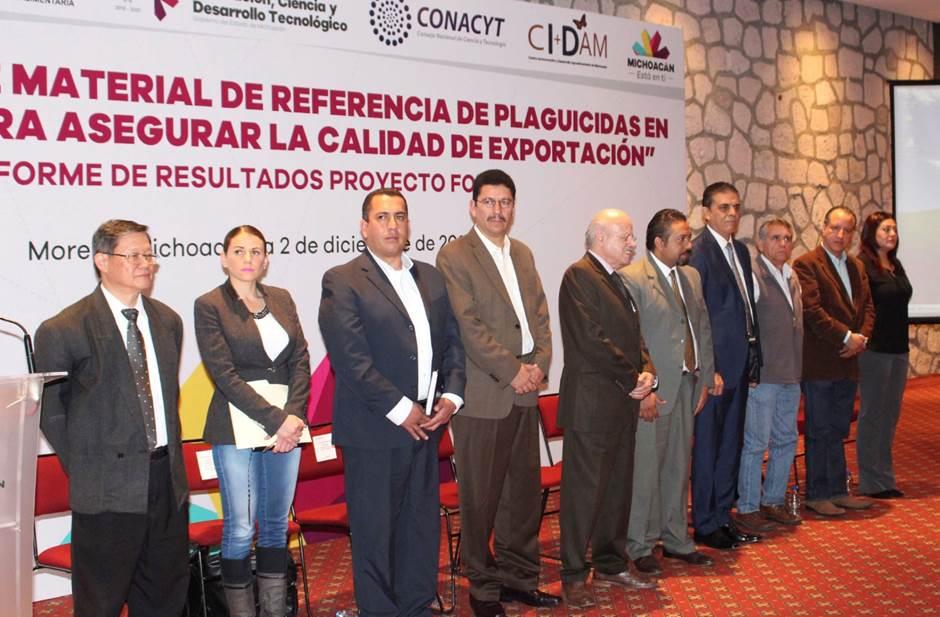 Desarrollo de Material de Referencia de plaguicidas en aguacate, para asegurar la calidad de exportación