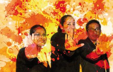 """el Comisionado Nacional de Seguridad, Renato Sales Heredia, promovió la campaña """"Pinta tu mundo de naranja"""" con acciones de sensibilización y capacitación para poner fin a la violencia contra las mujeres y niñas."""