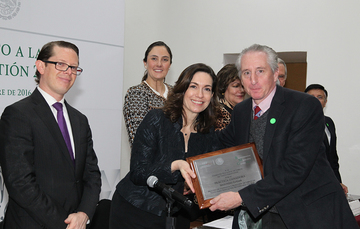 La Conaliteg es reconocida con el premio Mejora a la Gestión 2016