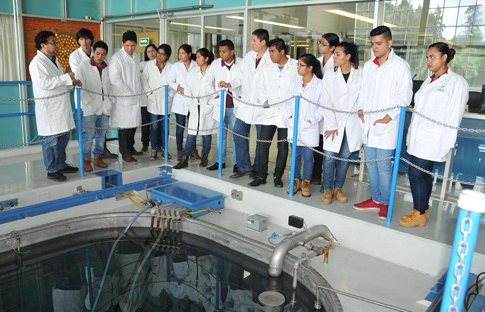 Cada año el Instituto Nacional de Investigaciones Nucleares (ININ) recibe a instituciones educativas de nivel medio superior, superior y posgrado con la finalidad de divulgar el desarrollo de ciencia y tecnología nuclear