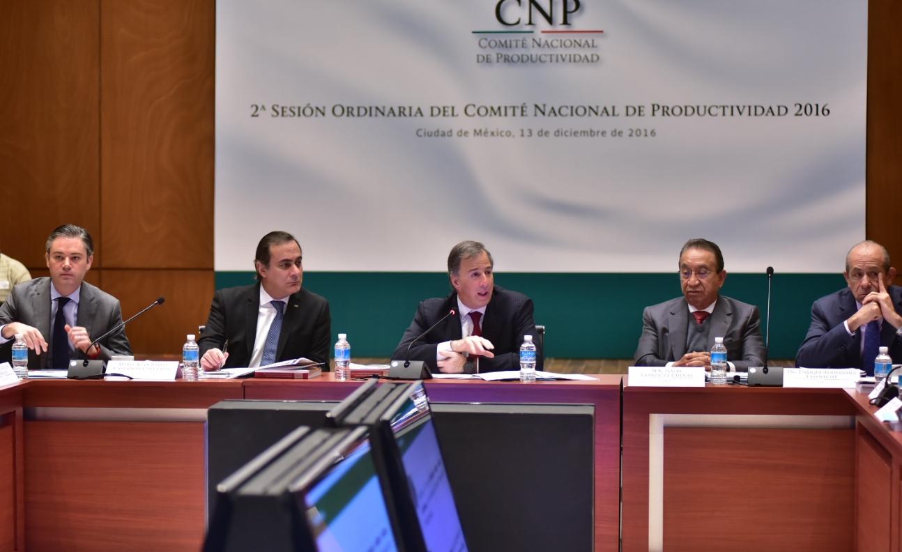 2a Sesión Ordinaria del Comité Nacional de Productividad 2016