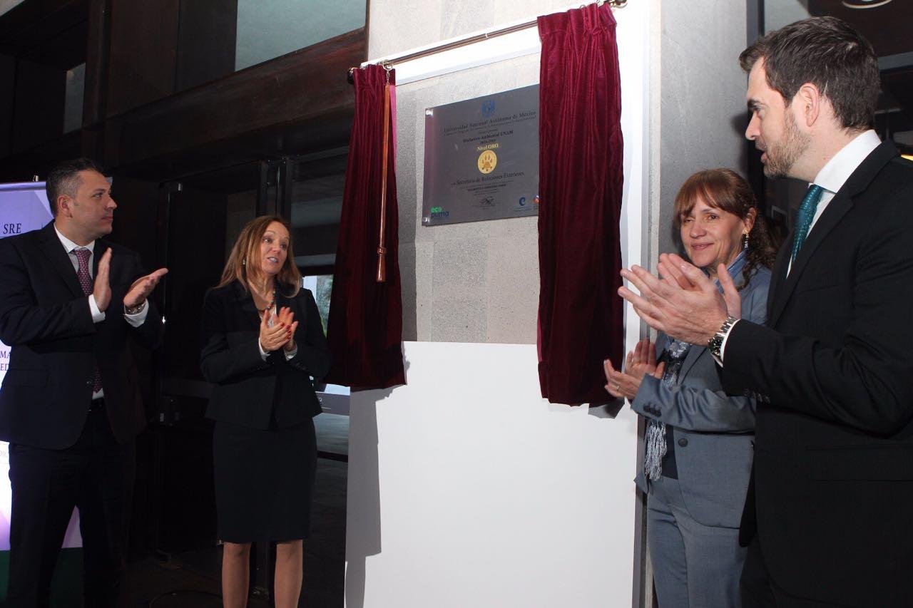 El Edificio Tlatelolco obtuvo el Distintivo Oro que otorga el Programa Universitario de Estrategias para la Sustentabilidad de la  UNAM.