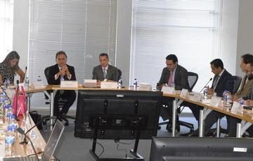 El Director General de Banobras, Abraham Zamora, se reunió con el Gobernador de Veracruz, Miguel Ángel Yunes