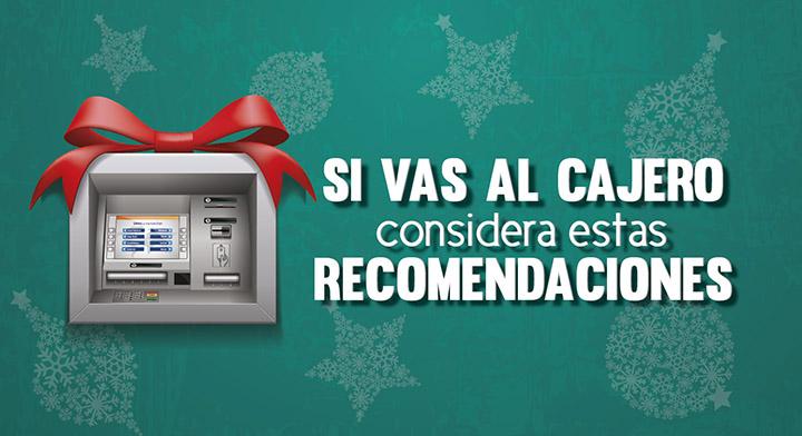 Considera estas recomendaciones cuando acudas al cajero for Dinero maximo cajero