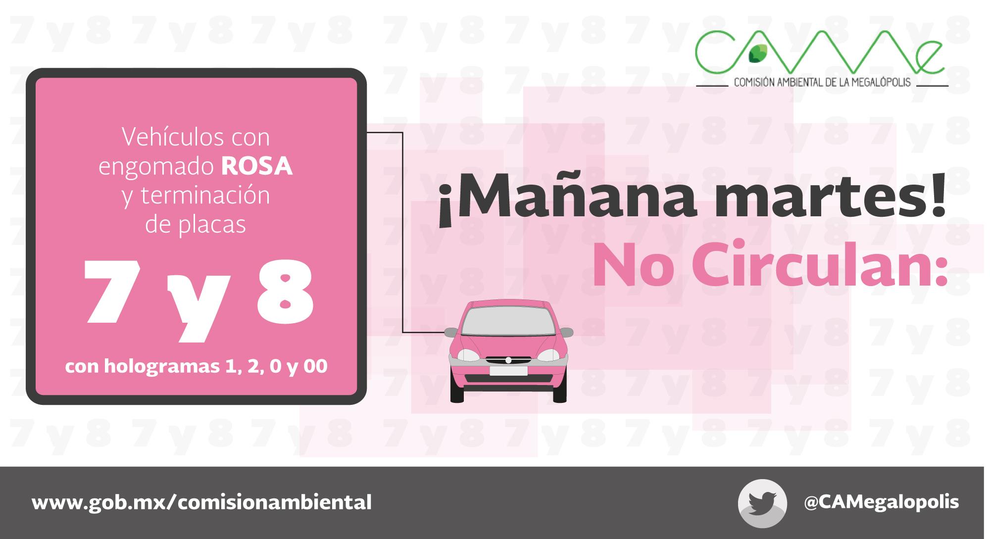 Martes rosa 7 8