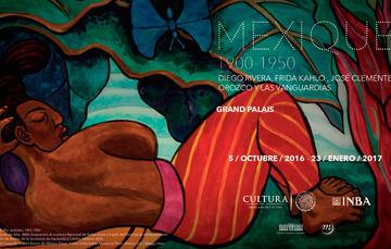 Mexique. 1900-1950. Diego Rivera, Frida Kahlo, José Clemente Orozco y las Vanguardias