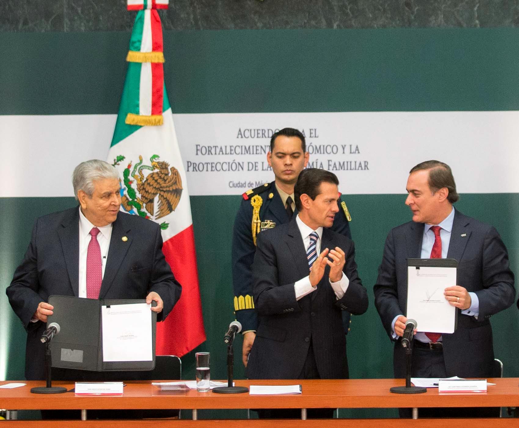 Quienes suscribieron el Acuerdo, se han comprometido a preservar el Estado de Derecho y a fortalecer la cultura de la legalidad.