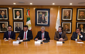 Firman SCT Y gobierno de Yucatán Acuerdo de Colaboración para ampliar Puerto Progreso