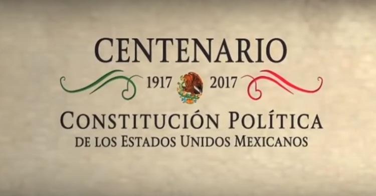 Centenario de la Constitución de los Estados Unidos Mexicanos