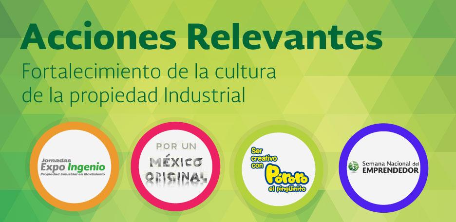 Actividades del IMPI 2016: fortalecimiento de la cultura de propiedad industrial
