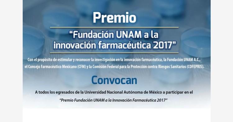 Premio Fundación UNAM a la Innovación Farmacéutica 2017