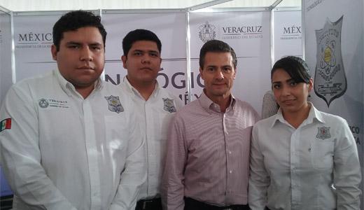 Alumnos ganadores del #TecNM del Festival de Ciencia y Tecnología en Túnez.