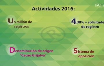 """Actividades del IMPI 2016: """"la marca es un activo intangible valioso"""""""