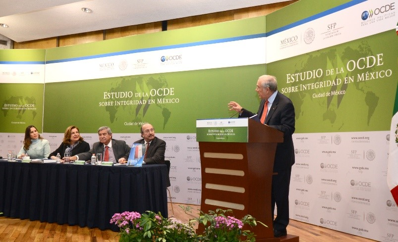 Misiones de la OCDE para la realización del Estudio de la OCDE sobre integridad en México