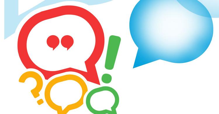 Imagen de globos de conversación