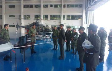 Visita de supervisión del Srio. Def. Nal., en la 15/a. Z. M., Jalisco.
