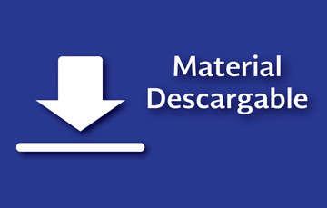 Material descargable de protección preventiva