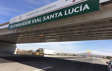 Distribuidor Vial Santa Lucía