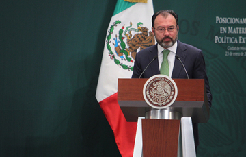 Mexico's foreign policy position