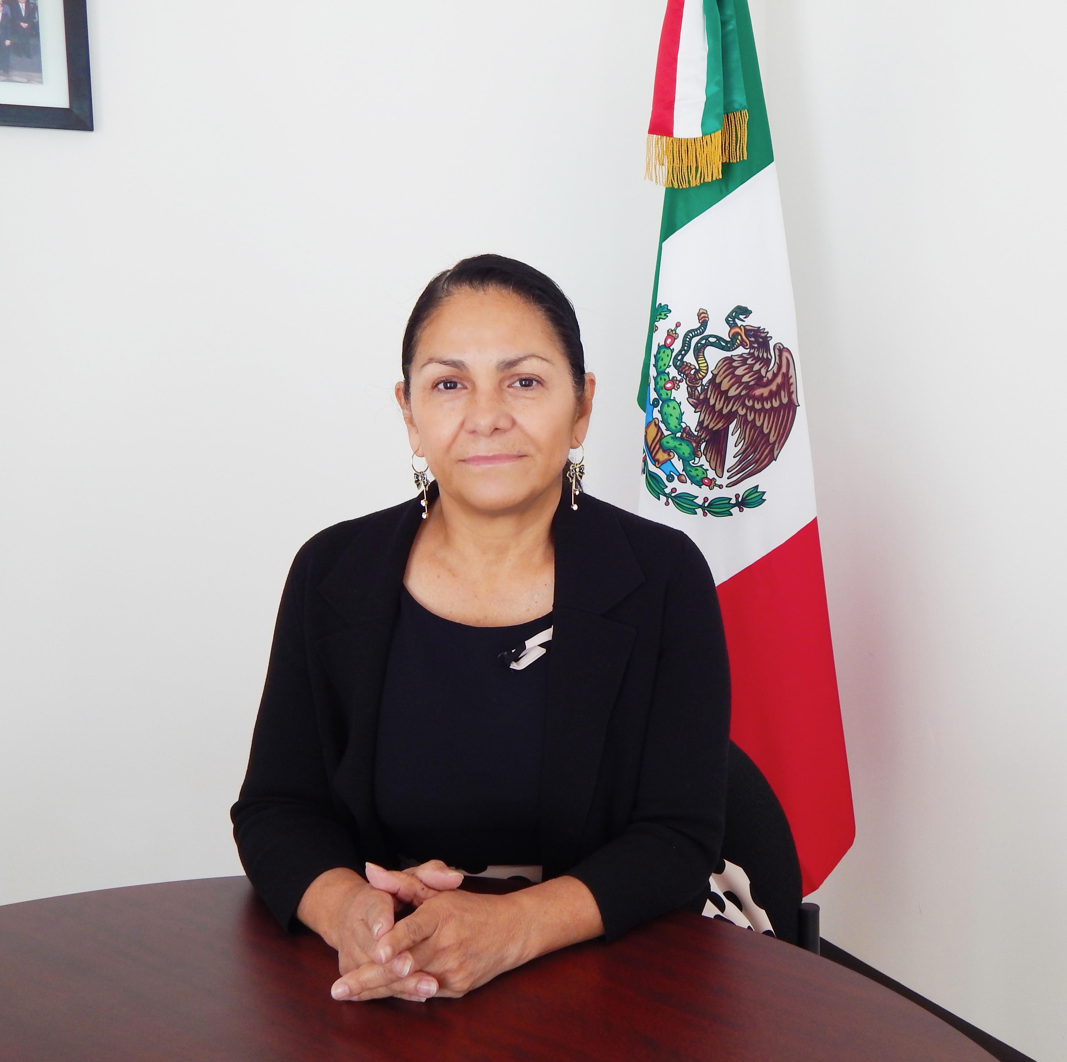 Imagen de Patricia Bugarin Gutiérrez, Coordinadora Nacional Antisecuestro.