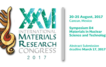 International Materials Research Congress IMRC XXVI