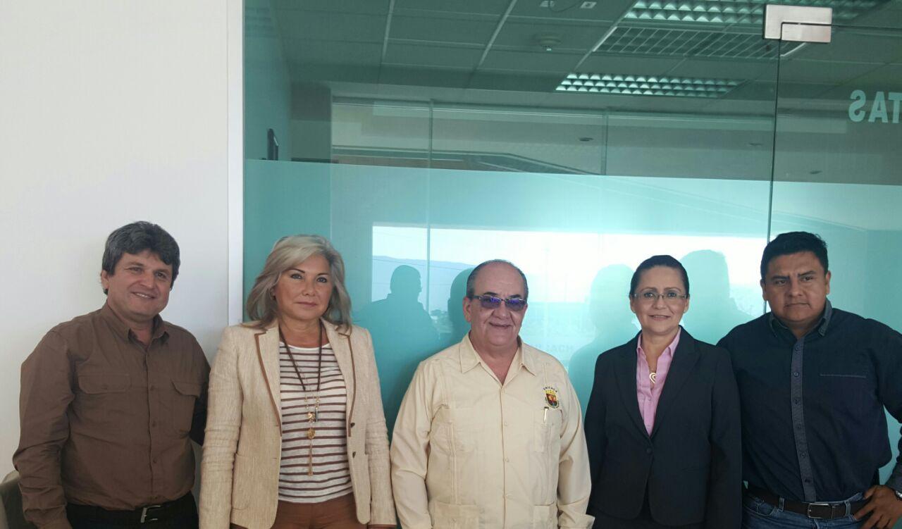 Reunión Directivos INCA Rural, Directivos UNICACH.