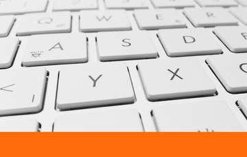 Ilustración de un teclado de computadora