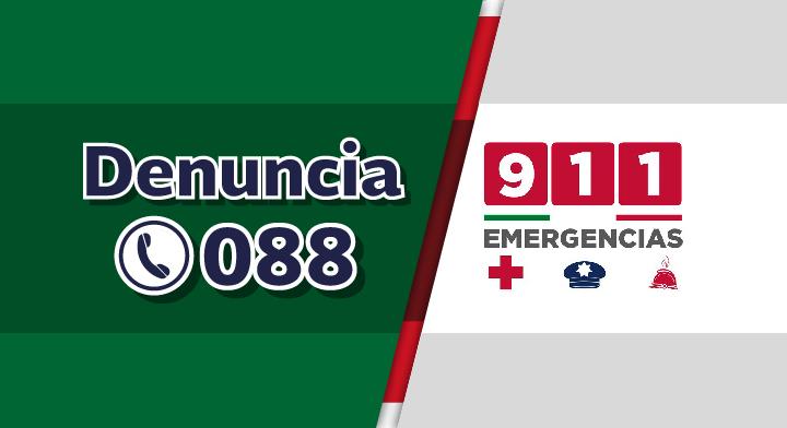 Sabes qué emergencias se denuncian en el 088 y cuáles en el 9-1-1? |  Secretaría de Gobernación | Gobierno | gob.mx