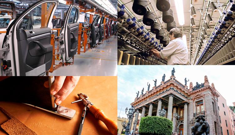 Guanajuato y sus principales  sectores productivos y estratégicos