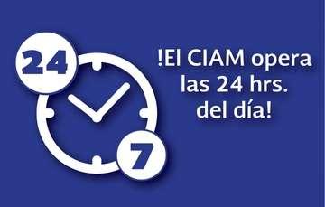 El CIAM opera las 24 horas del día