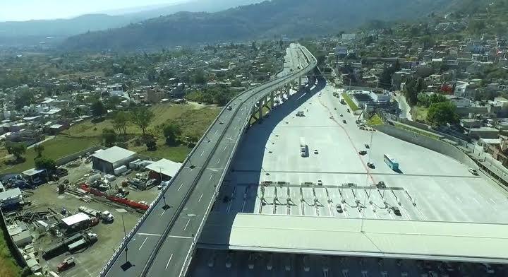 Rehabilitación en la Autopista México-Cuernavaca