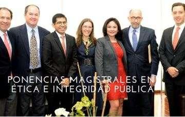 Conferencias Magistrales en Ética e Integridad Pública