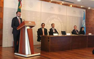 México y la Oficina del Alto Comisionado de la ONU para los Derechos Humanos reiteran su compromiso de seguir colaborando
