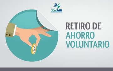 Retiro de Ahorro Voluntario IMSS