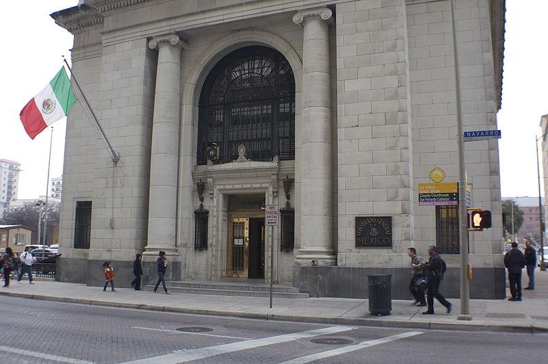 Consulado de México en Estados Unidos.