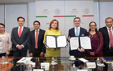 Firman SFP y Observatorio Nacional Ciudadano Convenio de Colaboración para fortalecimiento institucional
