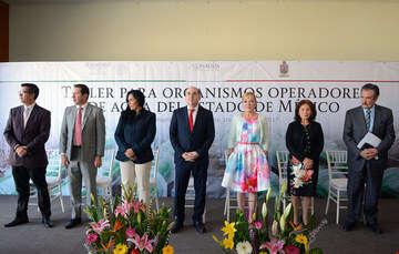 Apoya Conagua fortalecimiento de los organismos operadores de agua en el estado de México