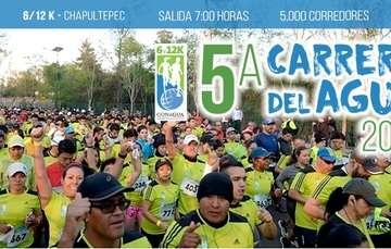La Conagua invita a participar en la Quinta Carrera del Agua