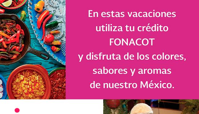 Banner vacaciones con crédito FONACOT