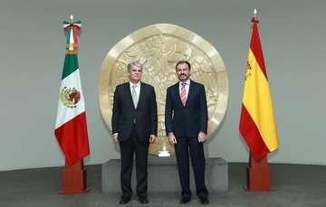 El Canciller Luis Videgaray recibe en la SRE, al Ministro de Asuntos Exteriores y de Cooperación del Reino de España, Alfonso María Dastis.