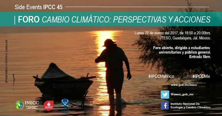 Foro Cambio Climático: Perspectivas y Acciones