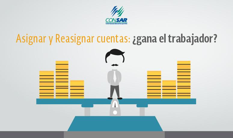 Asignar y Reasignar cuentas: ¿gana el trabajador?  Una evaluación sobre el mecanismo de A y R.