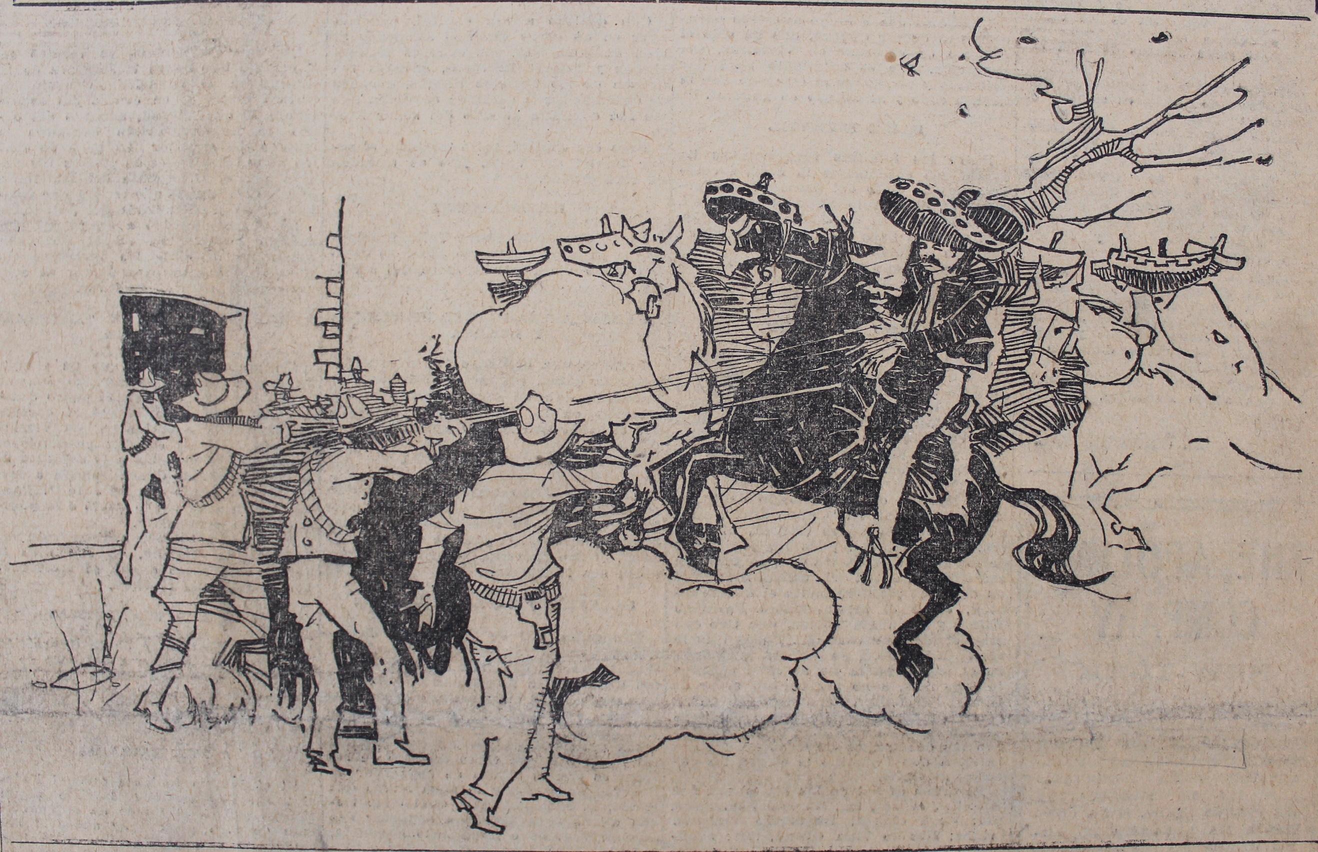 """""""El jefe de la rebelión del sur…"""", El Universal, 12 de abril de 1919"""