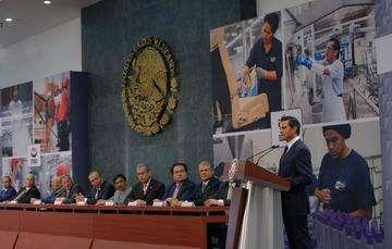 """""""Hoy lo podemos decir con toda certeza: esta es la Administración que más empleos formales ha creado en la historia del país"""": EPN"""