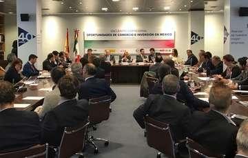 Españoles conocieron oportunidades de comercio e inversión en México